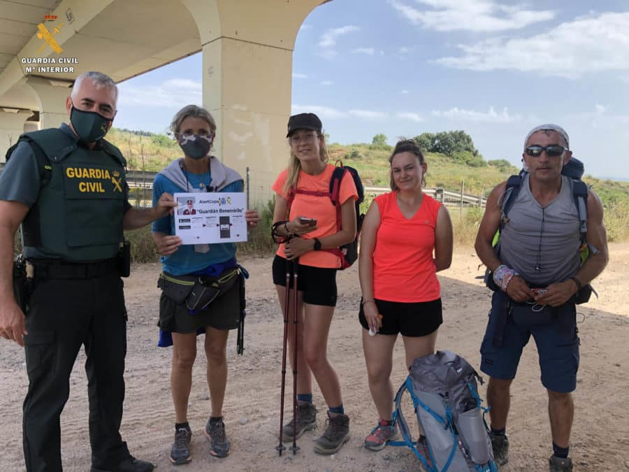 La Guardia Civil en La Rioja refuerza el plan de seguridad en el Camino de Santiago 1