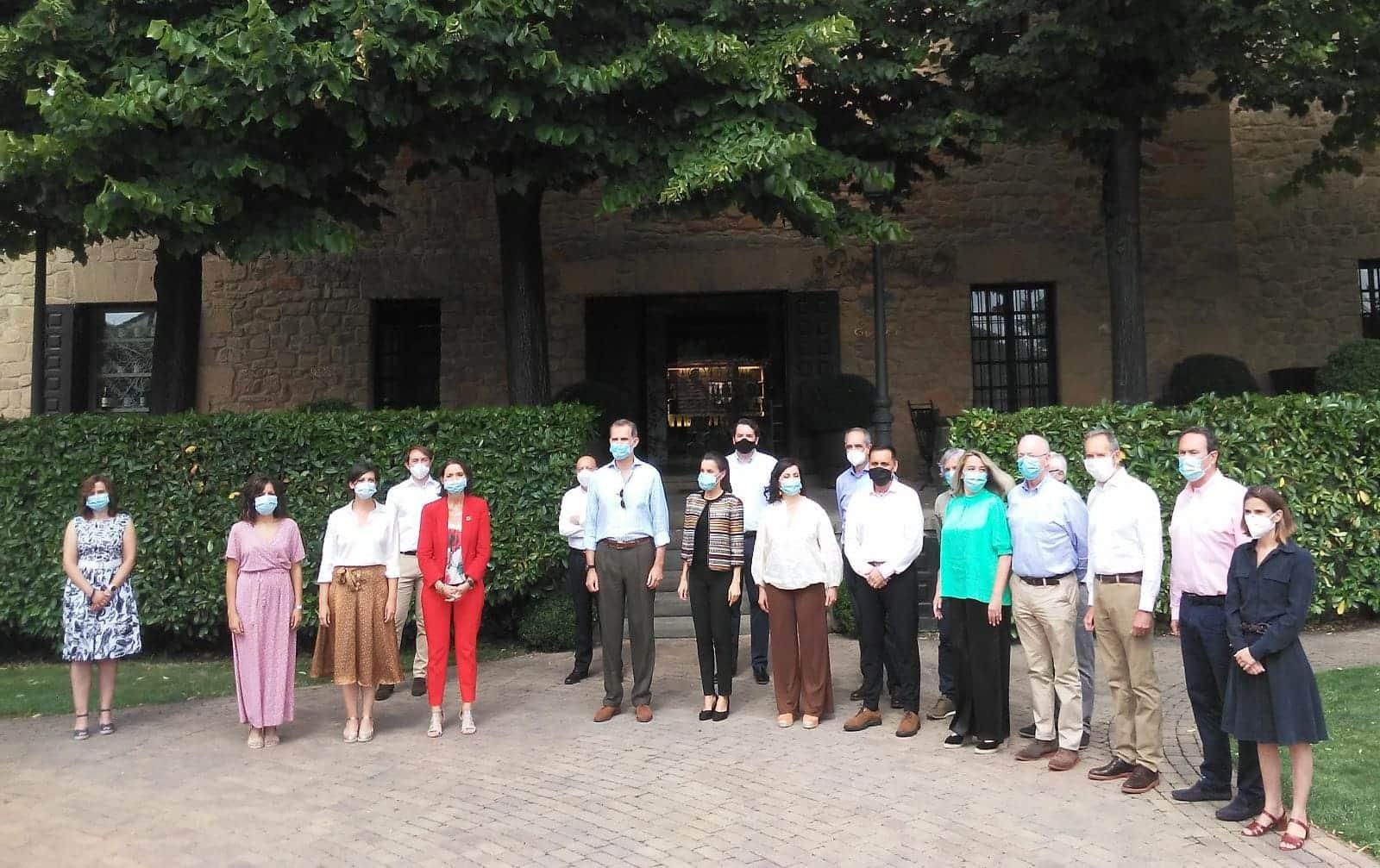 Los Reyes de España visitan Haro 9