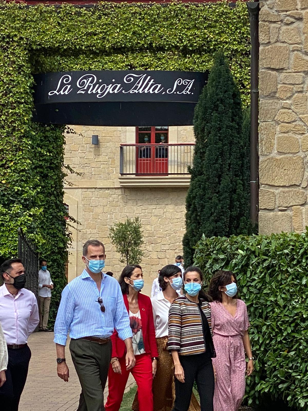 Los Reyes de España visitan Haro 4