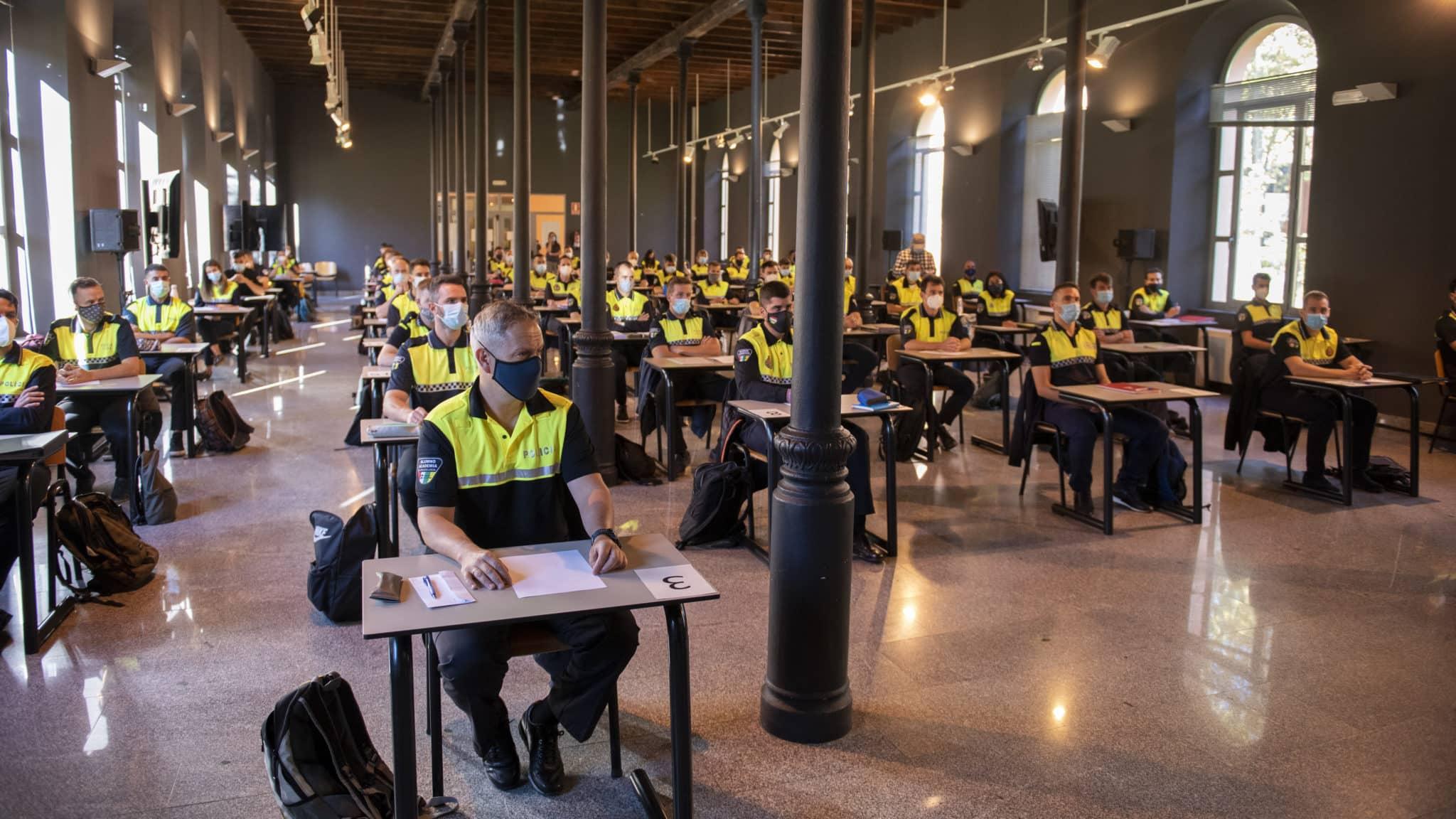 VÍDEO: Comienza la academia para los 62 nuevos agentes de Policía Local de La Rioja 2