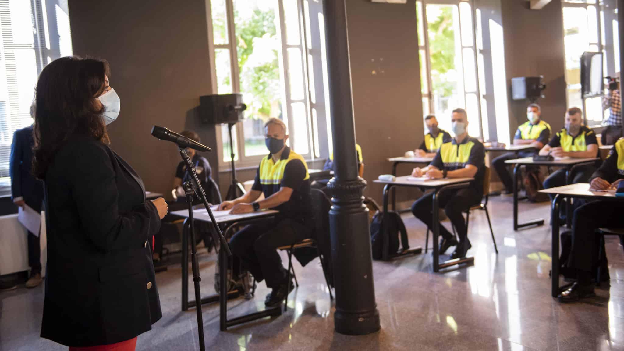 VÍDEO: Comienza la academia para los 62 nuevos agentes de Policía Local de La Rioja 1