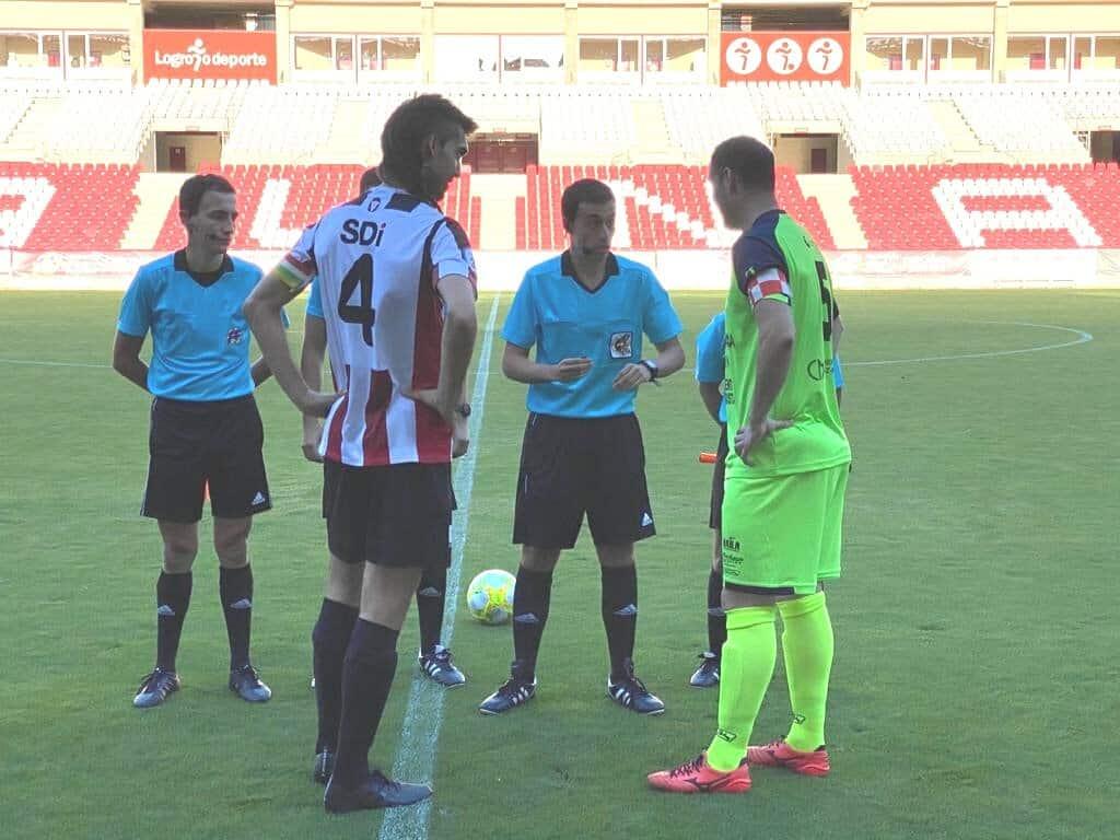 Los riojanos Adrián Calvo y Andrés Martínez, nuevos árbitros de Segunda B 1