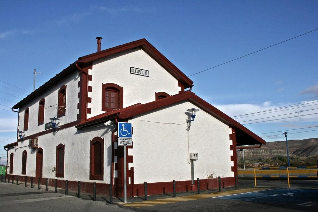 Estación de tren de Alcanadre