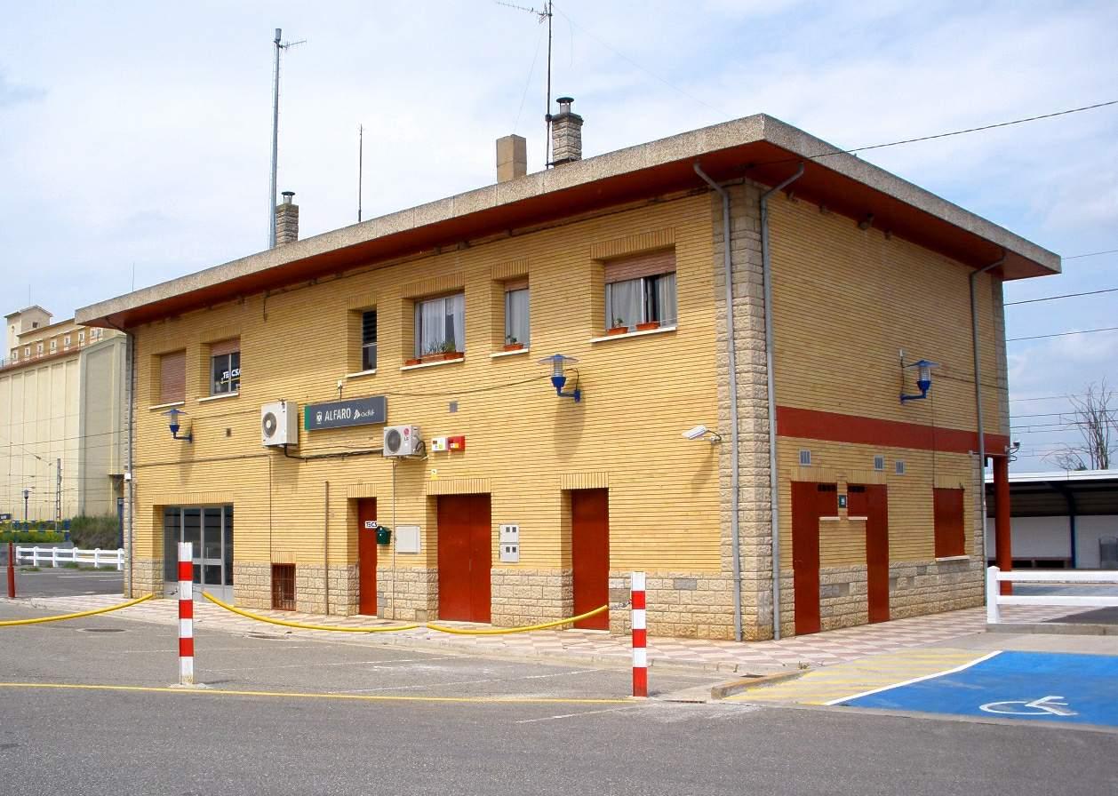 Estación de Alfaro