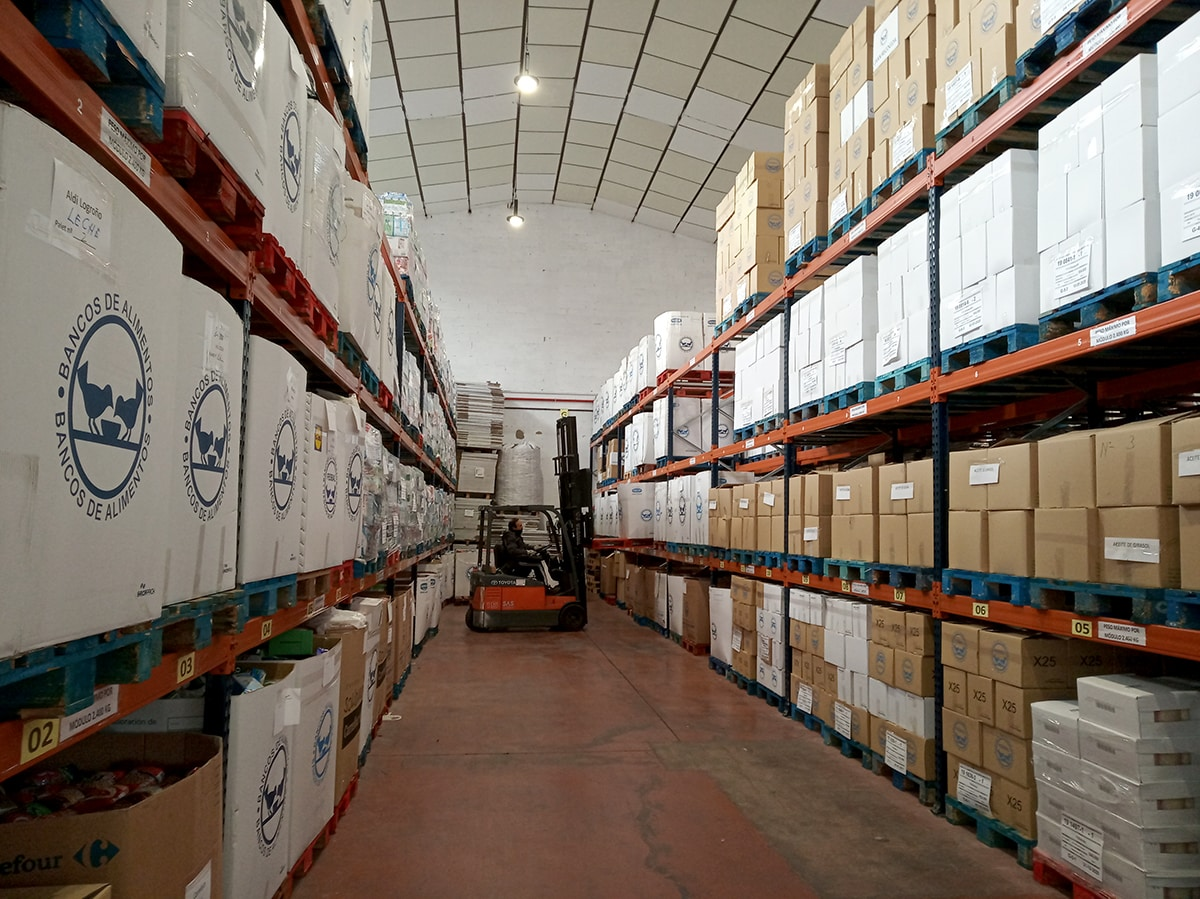 El Banco de Alimentos de La Rioja ha entregado casi 600.000 kilos de productos de primera necesidad 1