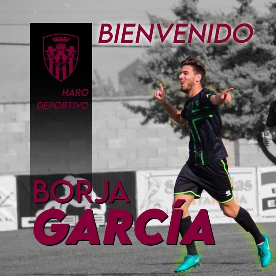 El Haro ficha al centrocampista Borja García 1