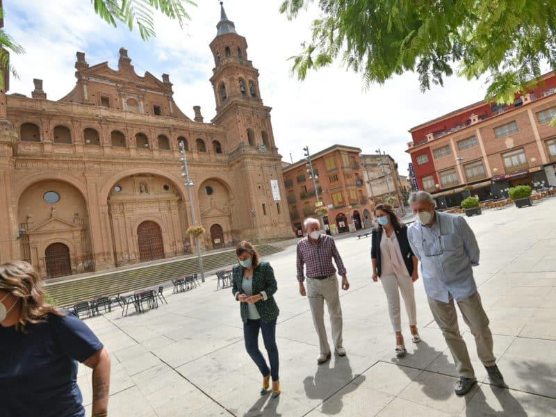 Concha Andreu en Alfaro