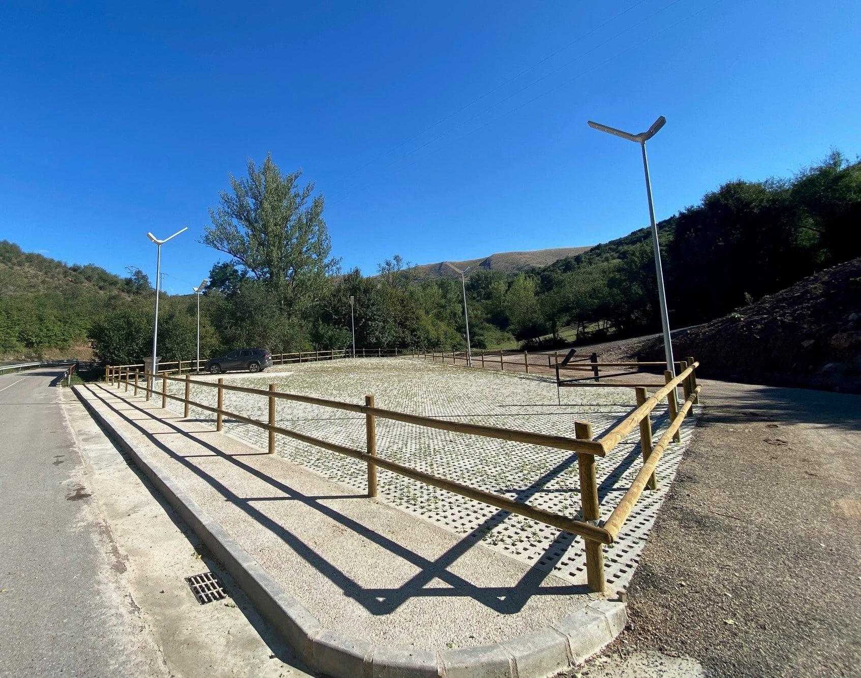 Canales de la Sierra abre un área de servicio para autocaravanas 1