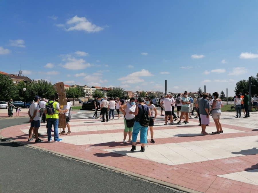 """Santurde, Santurdejo y Pazuengos marchan por una atención sanitaria """"digna"""" para el mundo rural 1"""