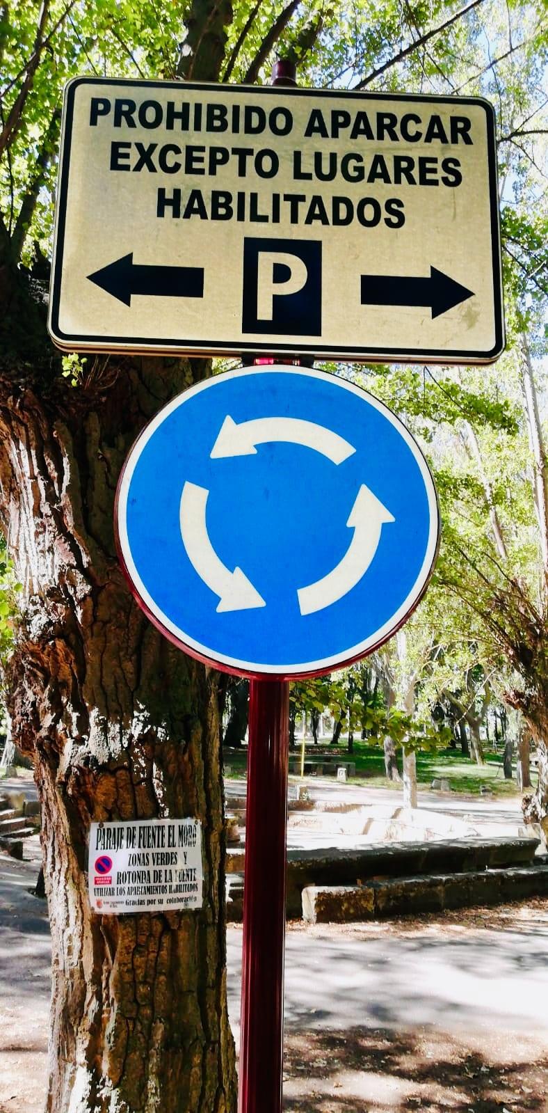 El Ayuntamiento de Haro reordena el tráfico en Fuente del Moro 1