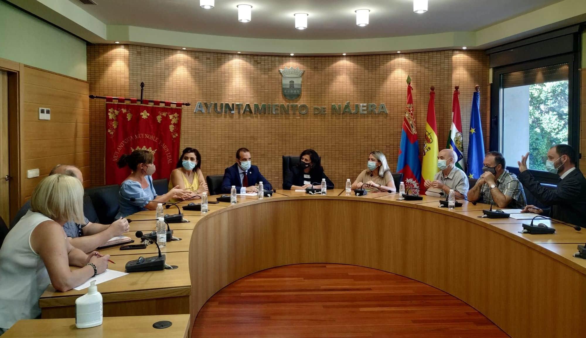 Reunión de Andreu en Nájera