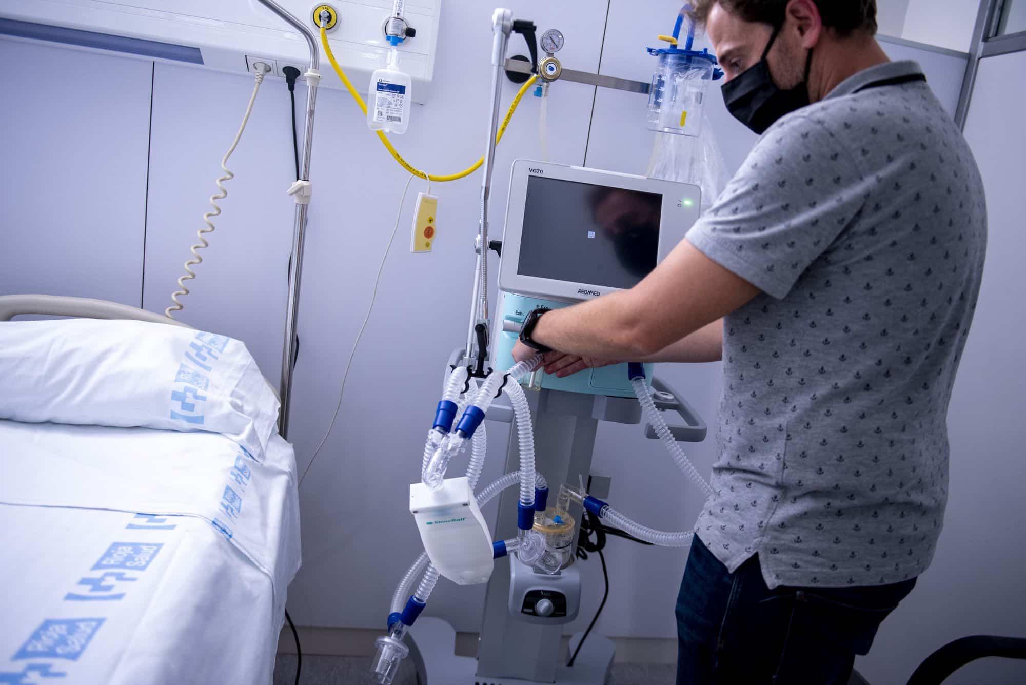 Respiradores Iberdrola