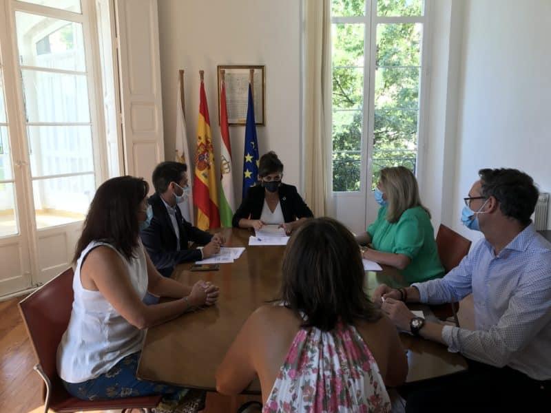 Concha Andreu reunión
