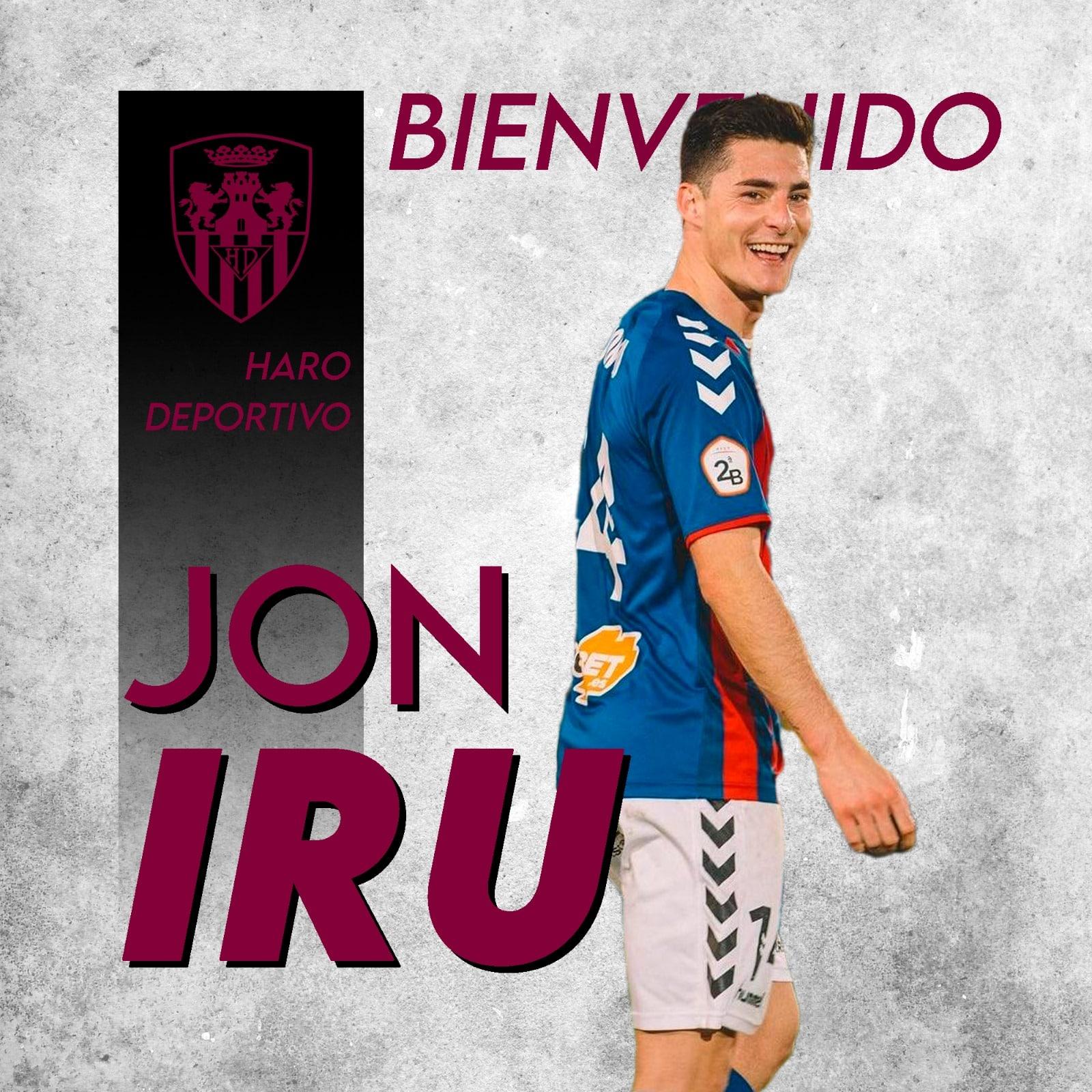 El Haro fortalece el centro del campo con Jon Iru 1