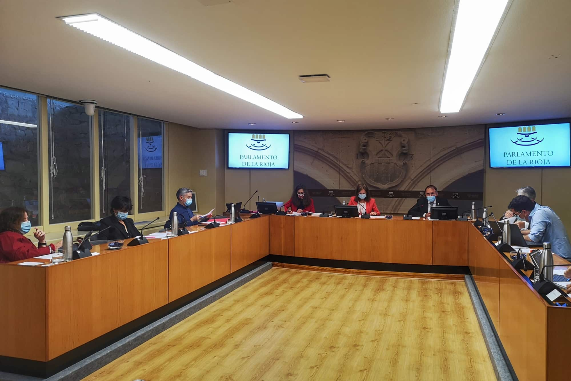 Comparecencia Parlamento de La Rioja