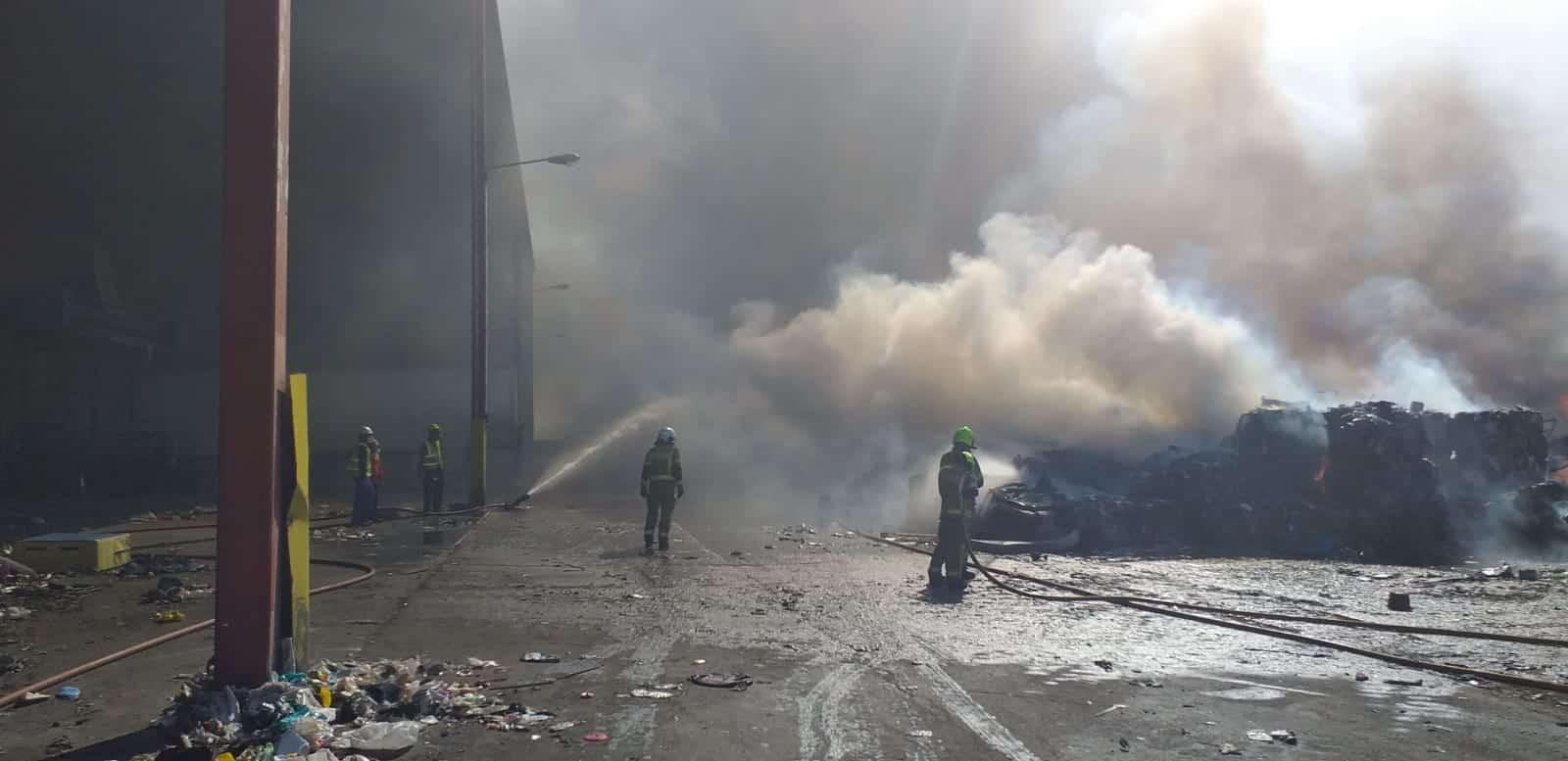Incendio Ecoparque