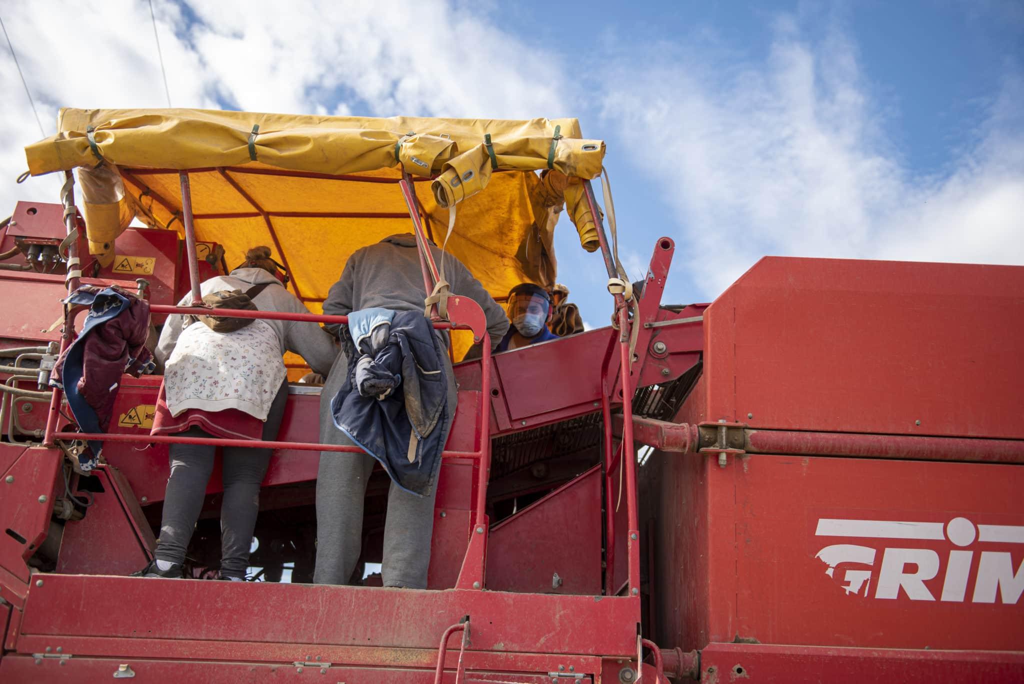 La Consejería de Agricultura y la Cooperativa Rioja Alta avanzan en el apoyo al sector de la patata 1