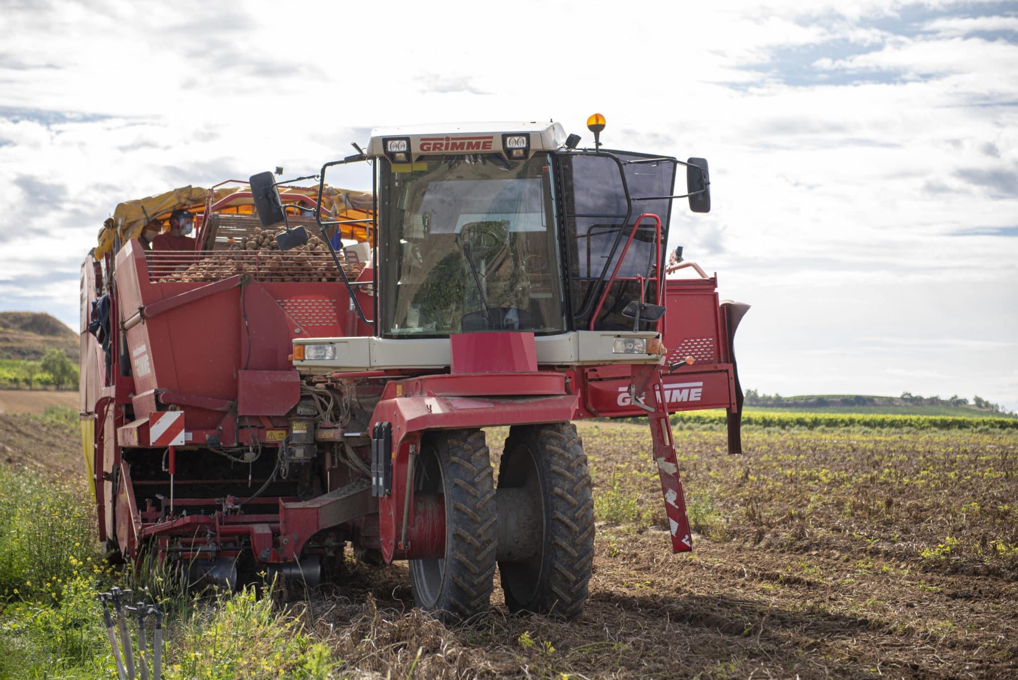 La Consejería de Agricultura y la Cooperativa Rioja Alta avanzan en el apoyo al sector de la patata 2