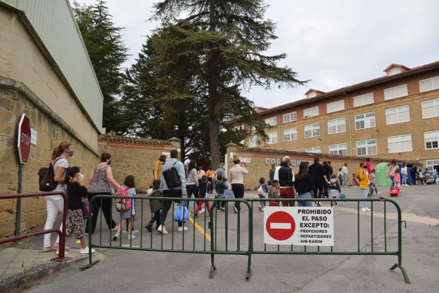 El 75% del alumnado de Infantil y Primaria de Haro asiste a clase en el inicio del curso escolar 8