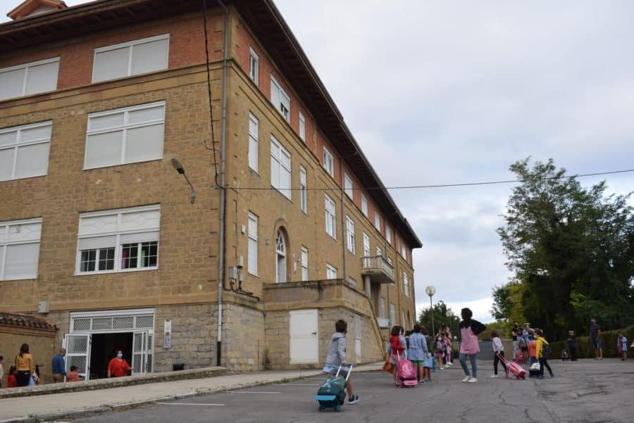 El 75% del alumnado de Infantil y Primaria de Haro asiste a clase en el inicio del curso escolar 7