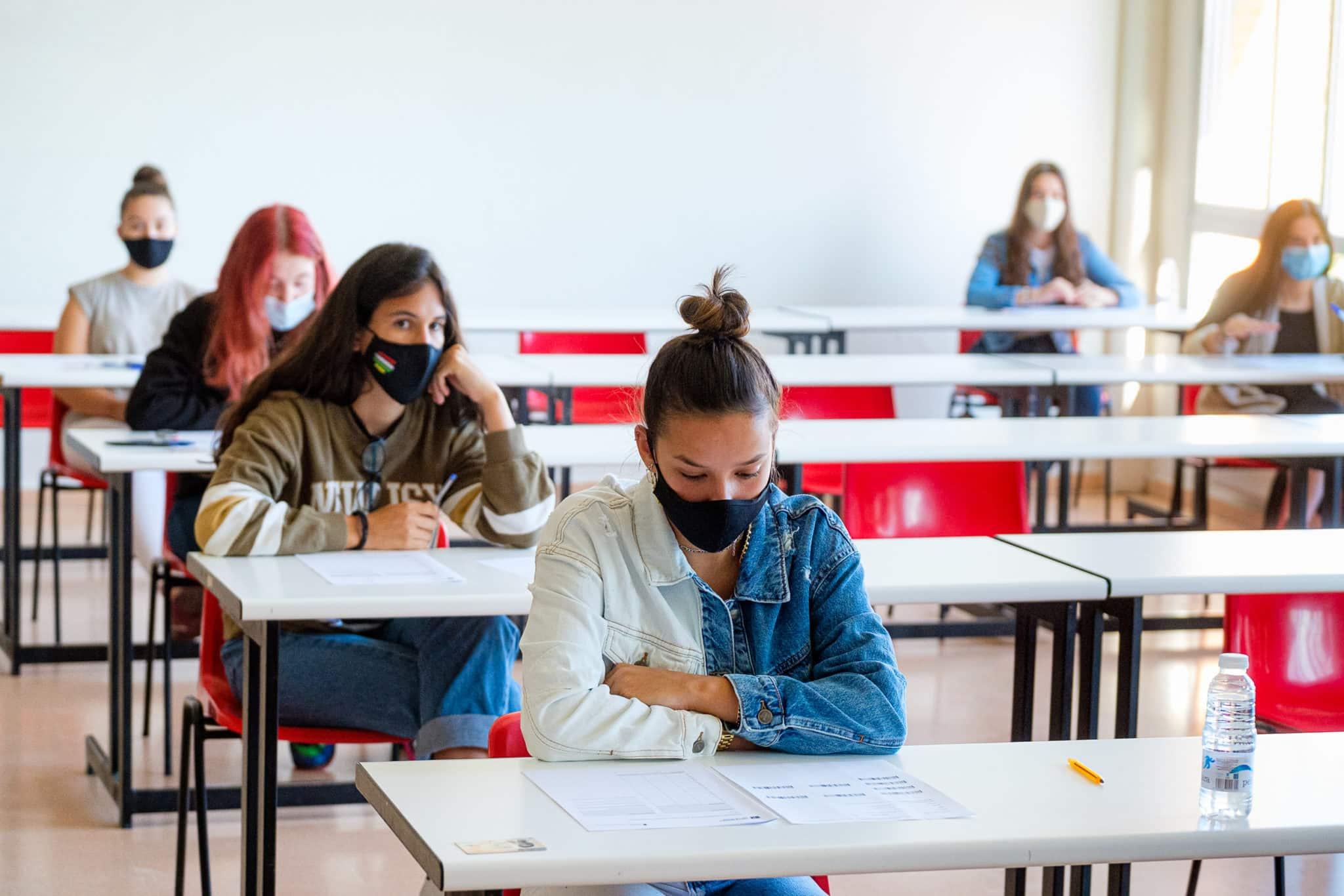 """La convocatoria extraordinaria de la EBAU comienza en La Rioja con """"total normalidad"""" 1"""