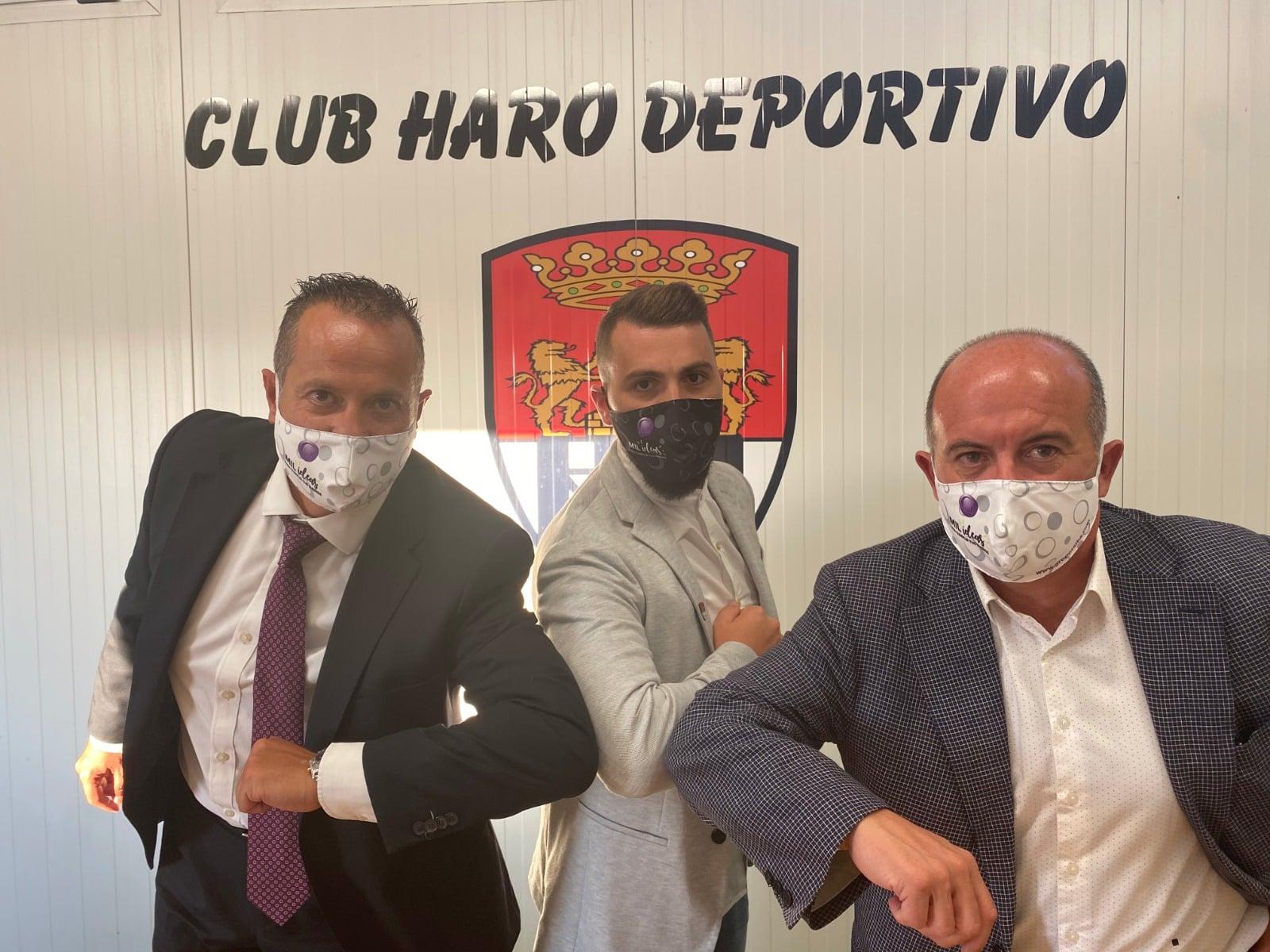 Firma acuerdo Haro Deportivo