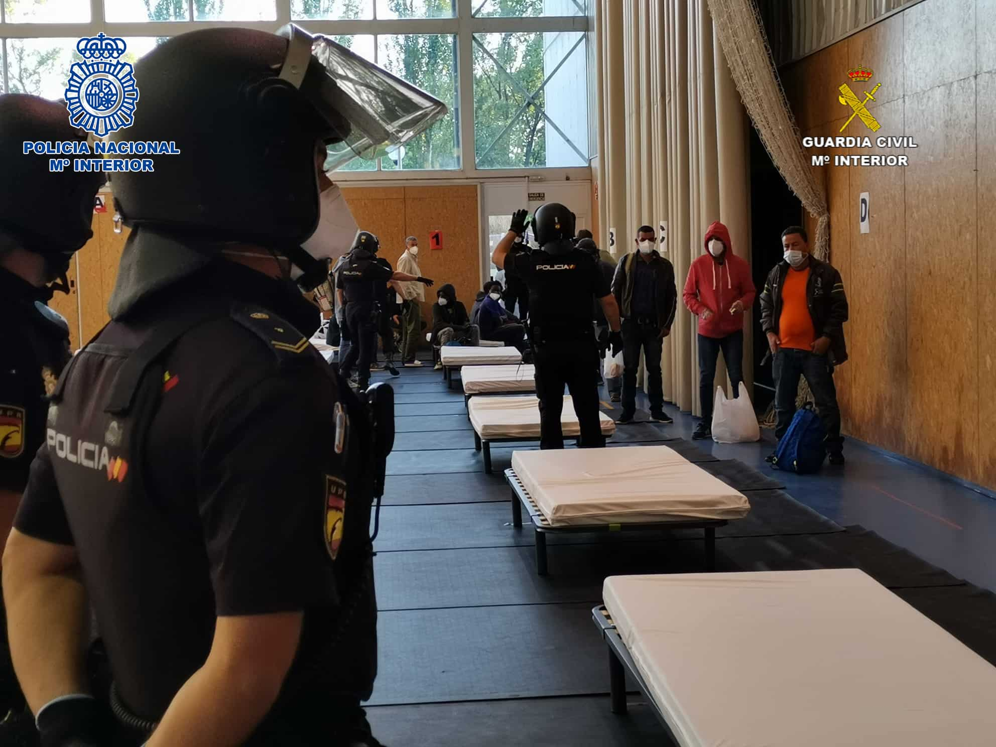 Las Fuerzas y Cuerpos de Seguridad del Estado colaboran en el dispositvo de traslado de temporeros en La Rioja 4