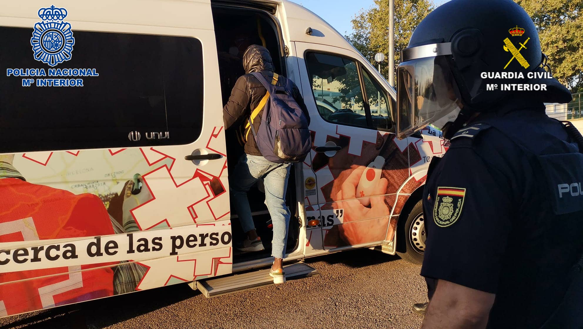 Las Fuerzas y Cuerpos de Seguridad del Estado colaboran en el dispositvo de traslado de temporeros en La Rioja 3