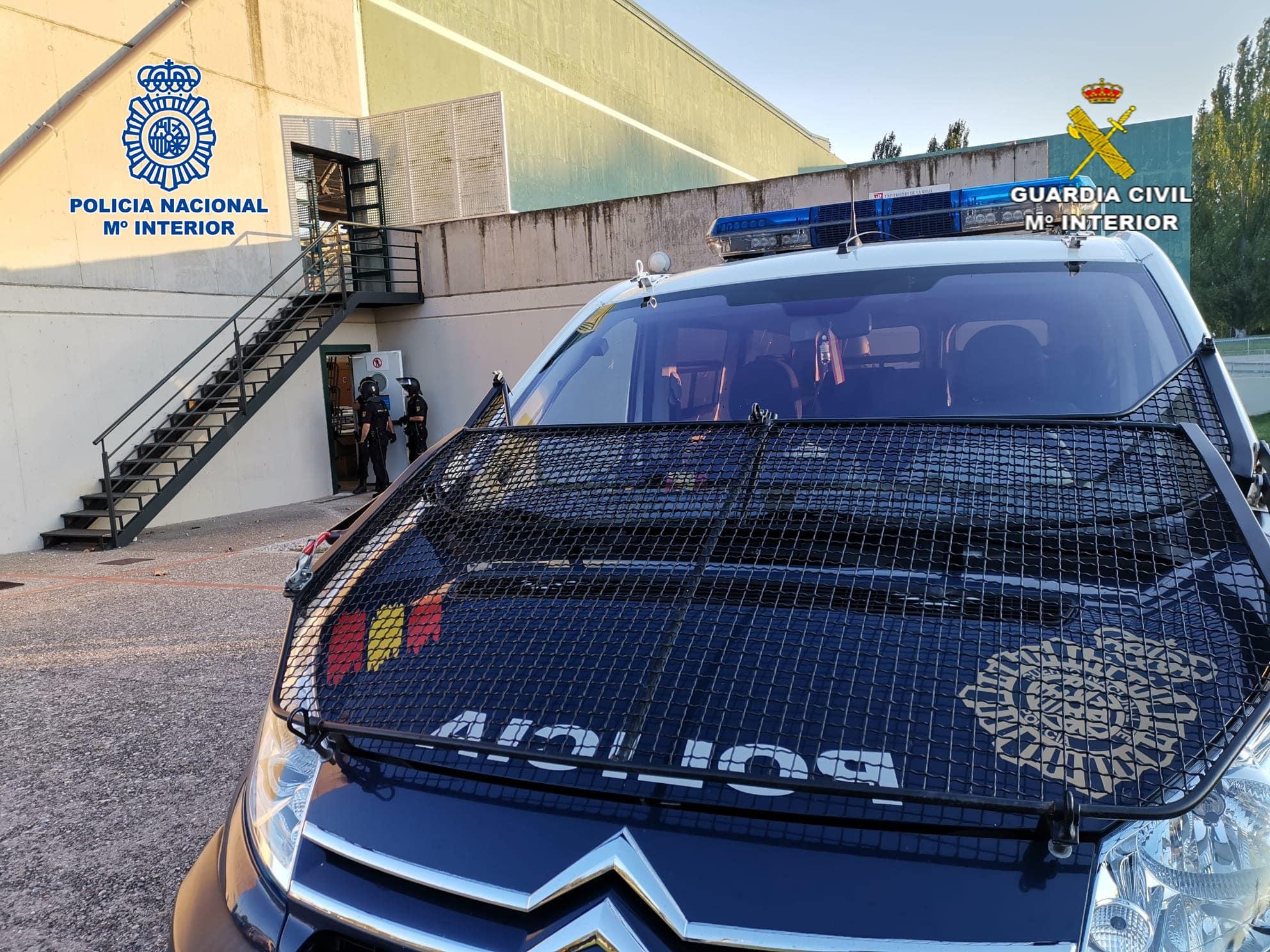 Las Fuerzas y Cuerpos de Seguridad del Estado colaboran en el dispositvo de traslado de temporeros en La Rioja 1