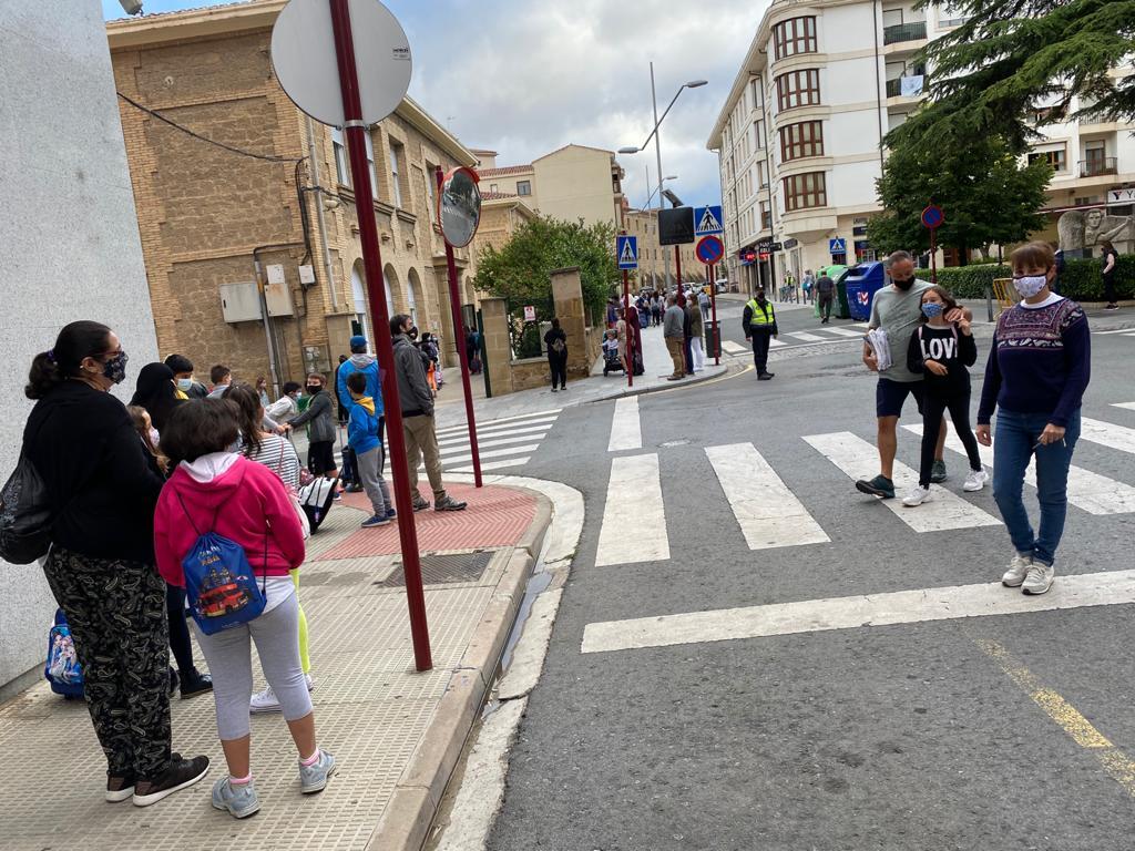 El 75% del alumnado de Infantil y Primaria de Haro asiste a clase en el inicio del curso escolar 1