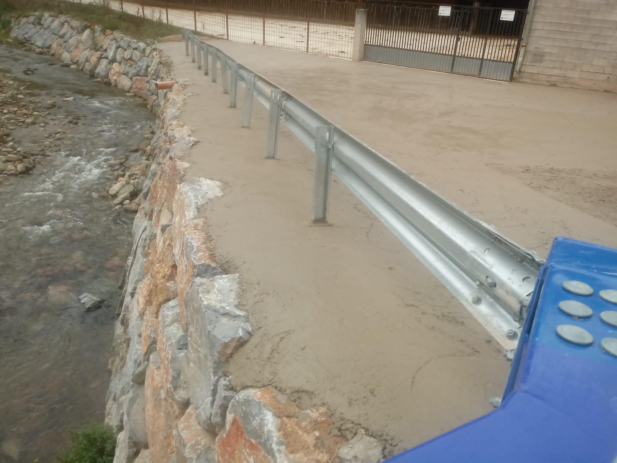 La Rioja mejora los accesos al puente sobre el Urbión en Viniegra de Abajo para facilitar el tránsito a explotaciones ganaderas y forestales 2