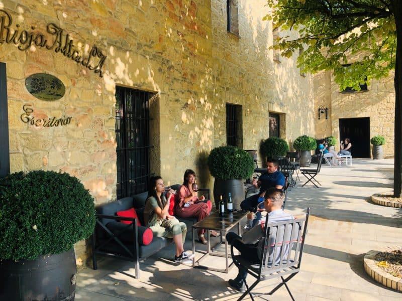 Terraceo en La Rioja Alta