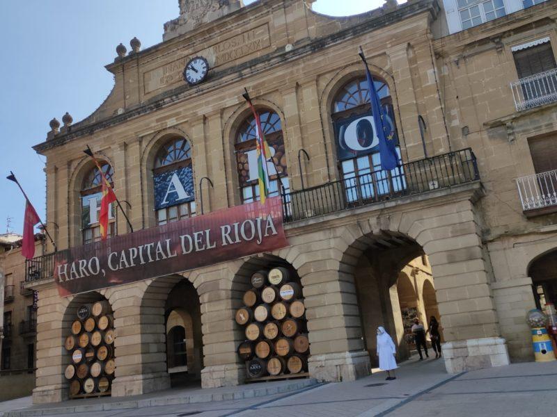 Ayuntamiento de Haro fachada