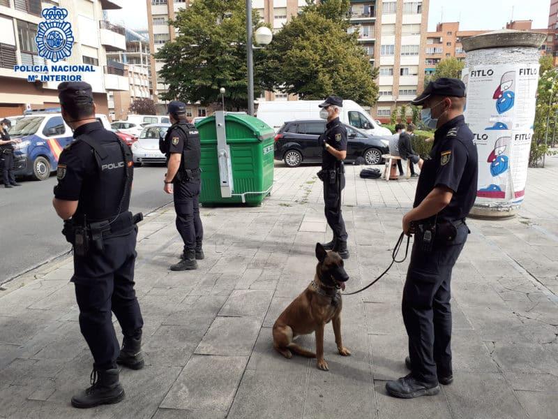 Dispositivo Policía Nacional