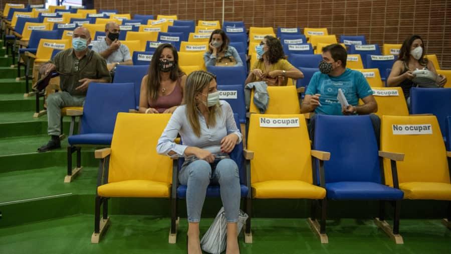 """Andreu preside en Nájera una reunión con centros educativos y alcaldes: """"La pandemia no puede hipotecar la Educación de nuestros hijos"""" 5"""