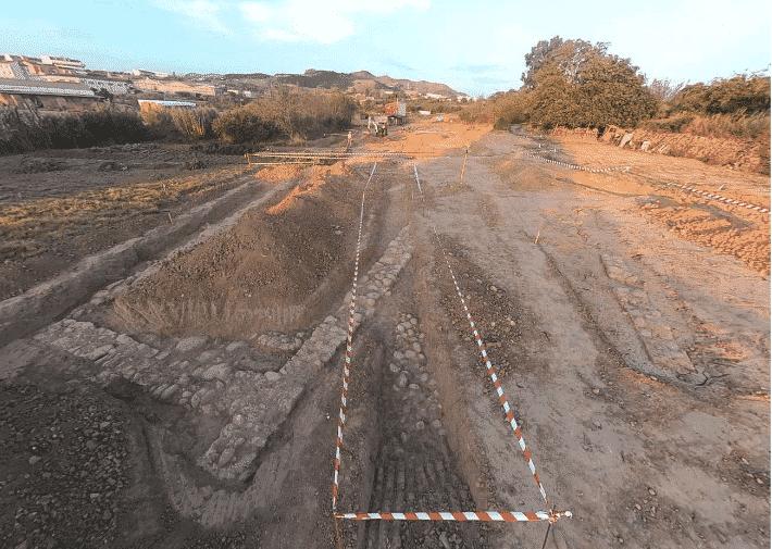 Los sondeos arqueológicos en las obras de la Ronda Sur confirman el hallazgo de un yacimiento en Lardero 2