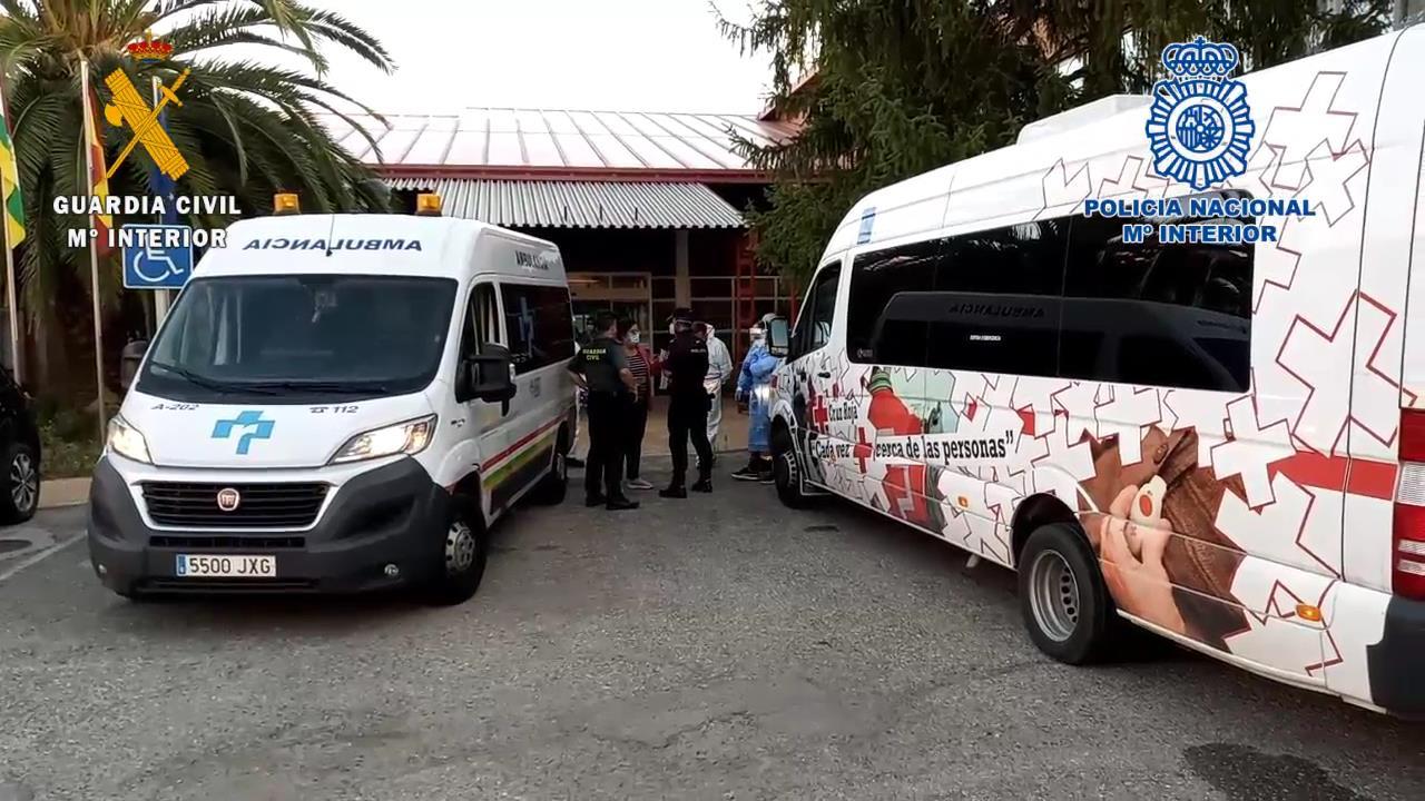 Las Fuerzas y Cuerpos de Seguridad del Estado colaboran en el dispositvo de traslado de temporeros en La Rioja 6