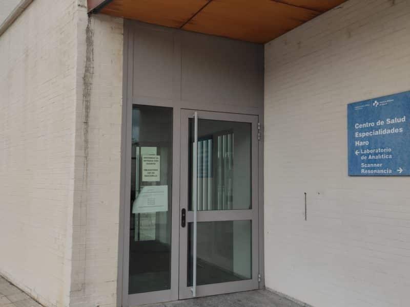 Urgencias del Centro de Salud de Haro