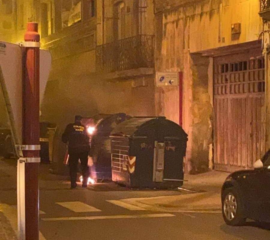 Policía Local y Guardia Civil intervienen en Haro en una manifestación contra las restricciones 2