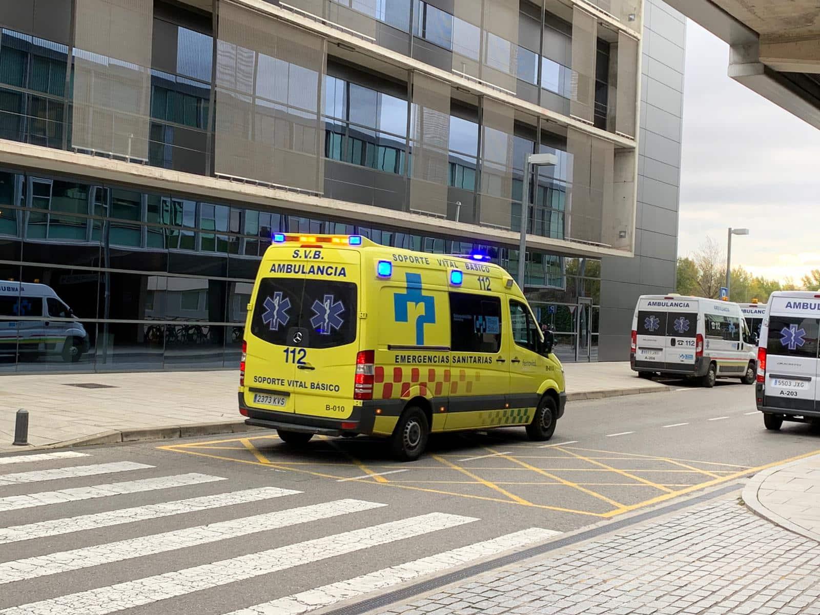 Ambulancia Hospital San Pedro