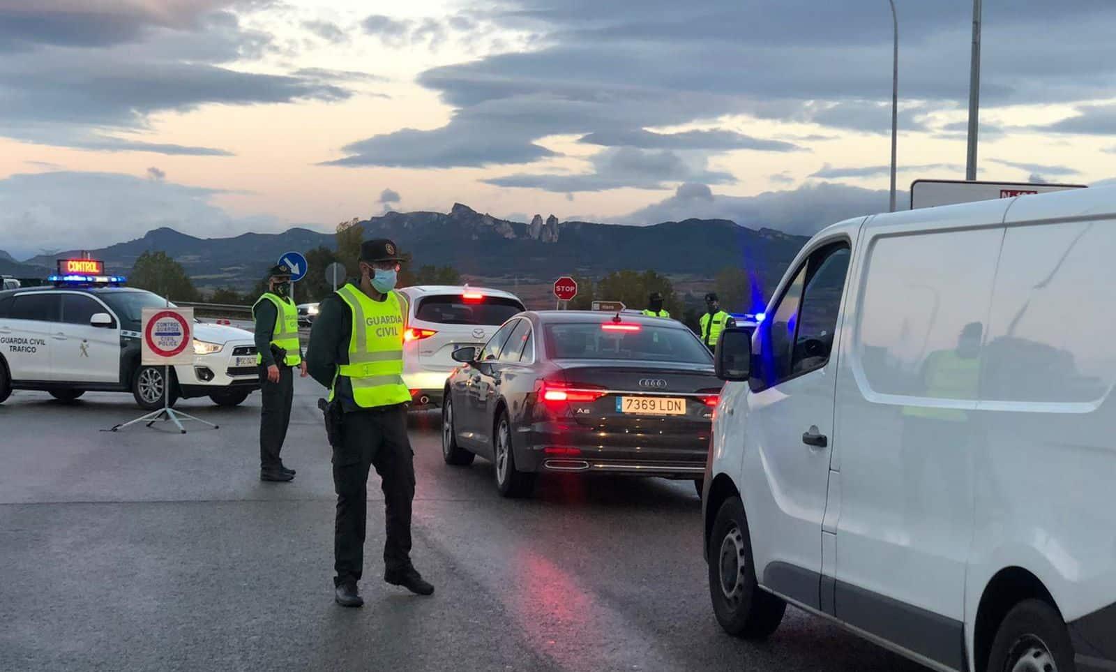 FOTOS: La Rioja vigila que se cumpla el confinamiento perimetral 8