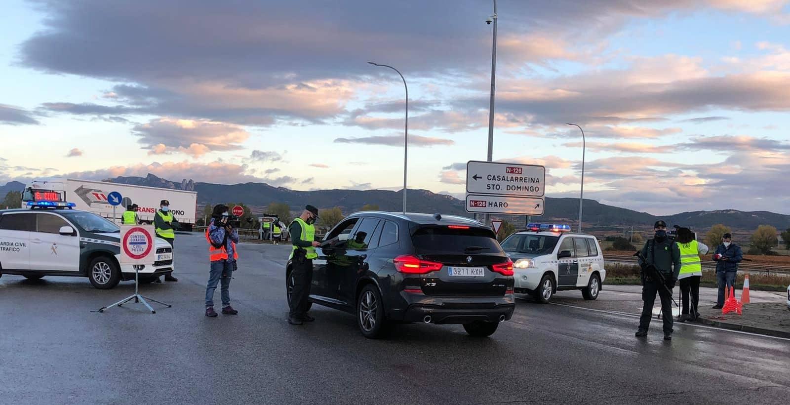 FOTOS: La Rioja vigila que se cumpla el confinamiento perimetral 1