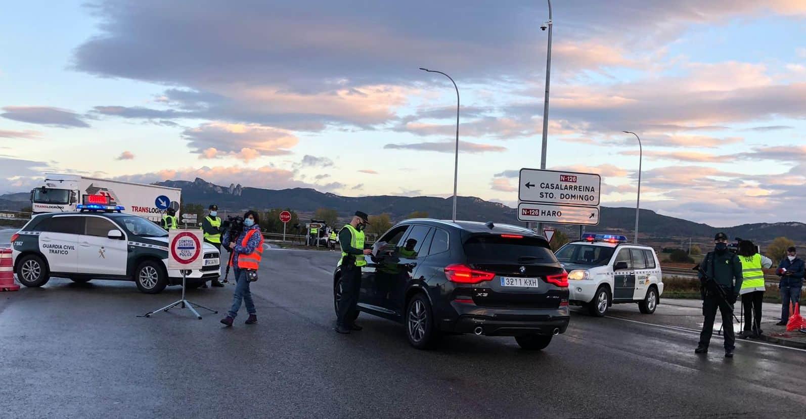 FOTOS: La Rioja vigila que se cumpla el confinamiento perimetral 5