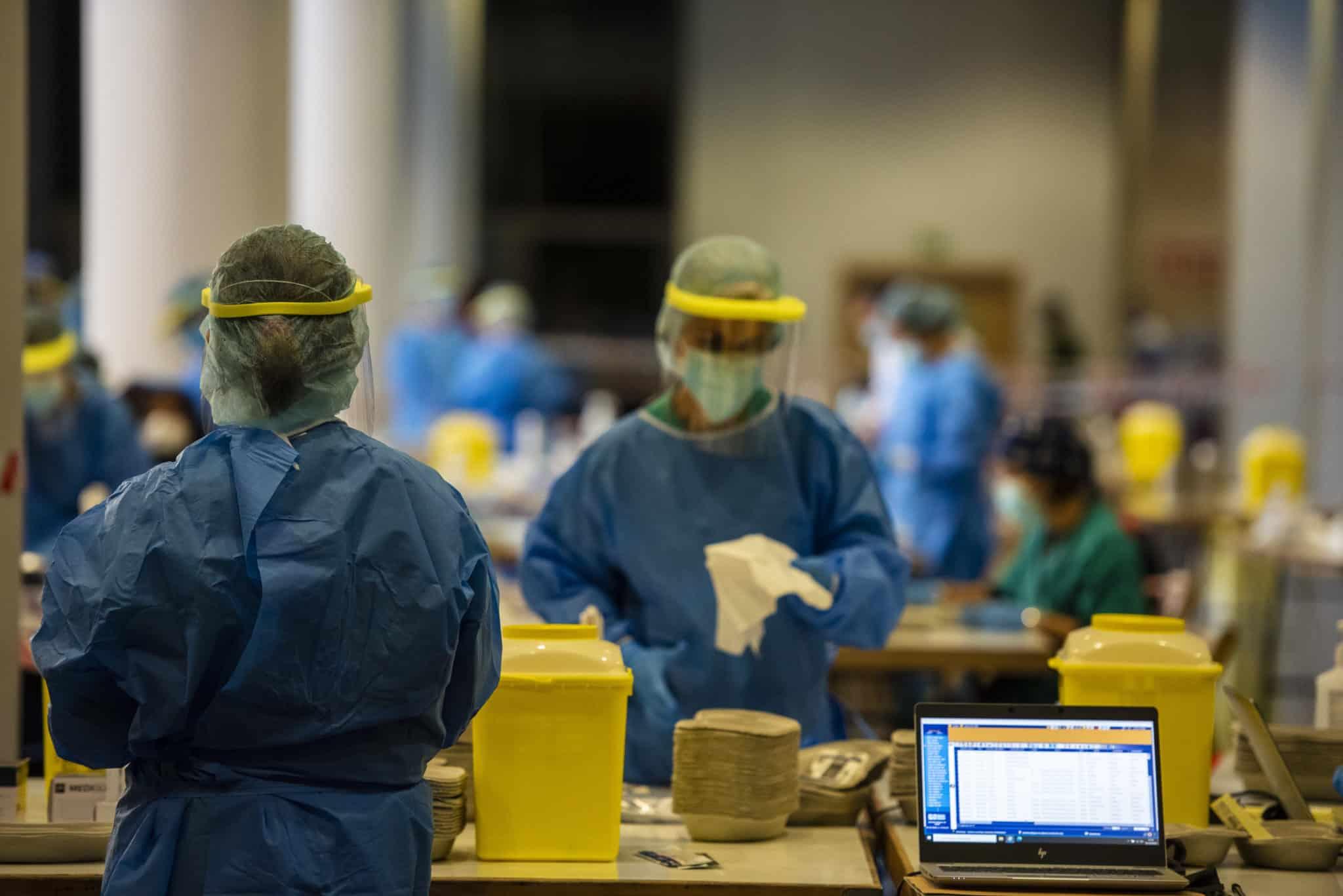 El dispositivo especial de cribado en Logroño recoge más de 800 muestras en las cuatro primeras horas 2