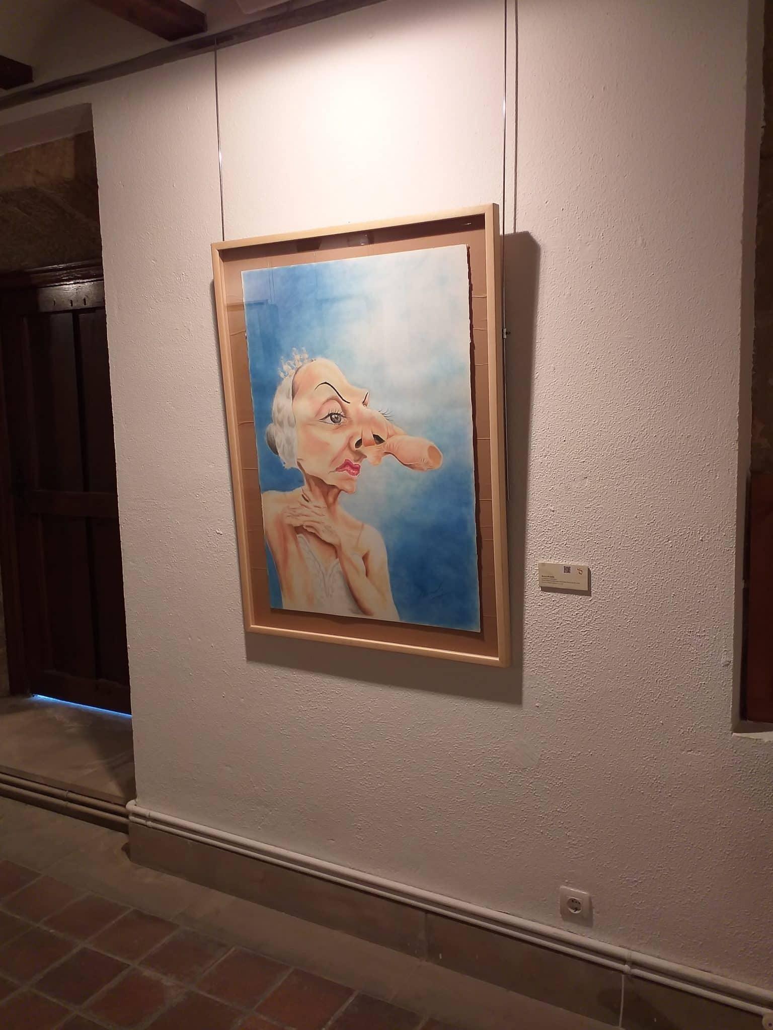 El Centro Fundación Caja Rioja-Bankia de Haro acoge una exposición de caricaturas del mexicano Fredy Rodríguez 2