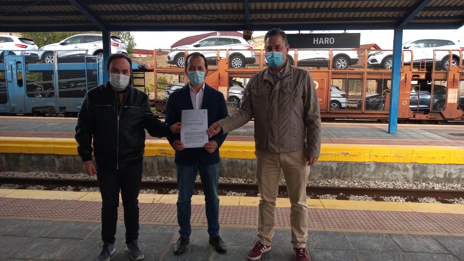 Ciudadanos exige al Gobierno riojano que actúe para que la estación de tren de Haro vuelva a prestar servicio 1