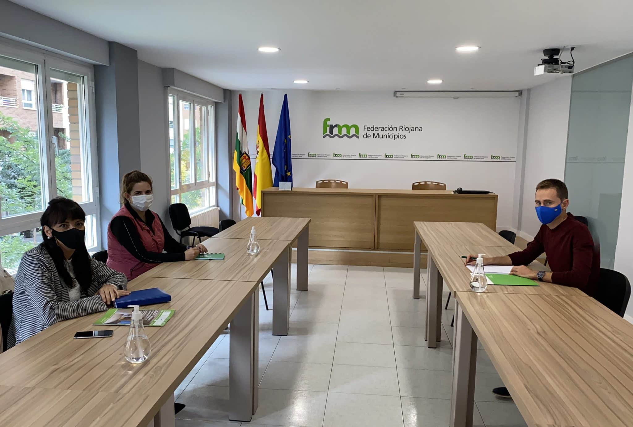 La FRM potenciará la llegada de fondos europeos a los municipios riojanos de la mano de los Grupos de Acción Local 1