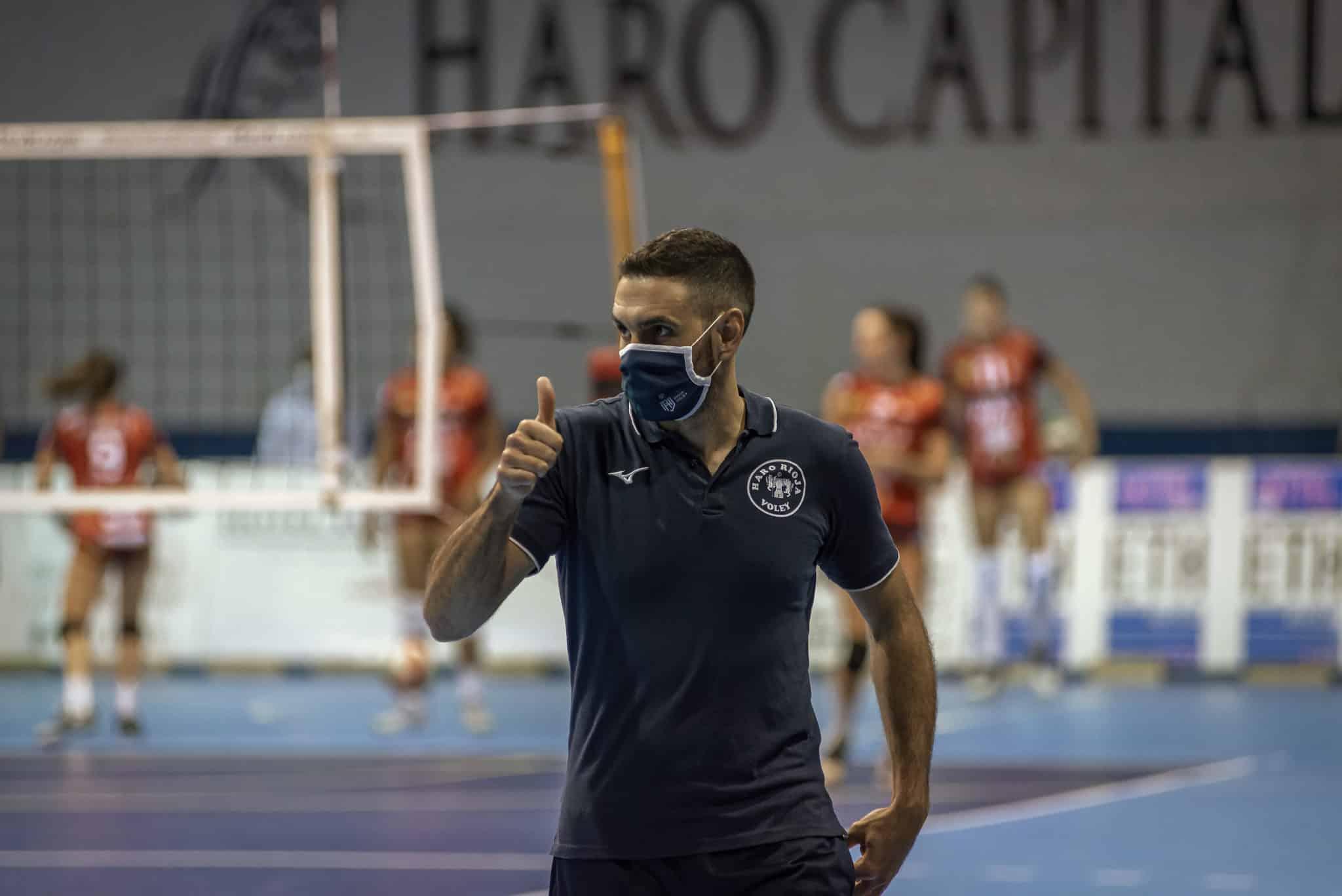 Trabajado triunfo del OSACC Haro ante Cajasol 3