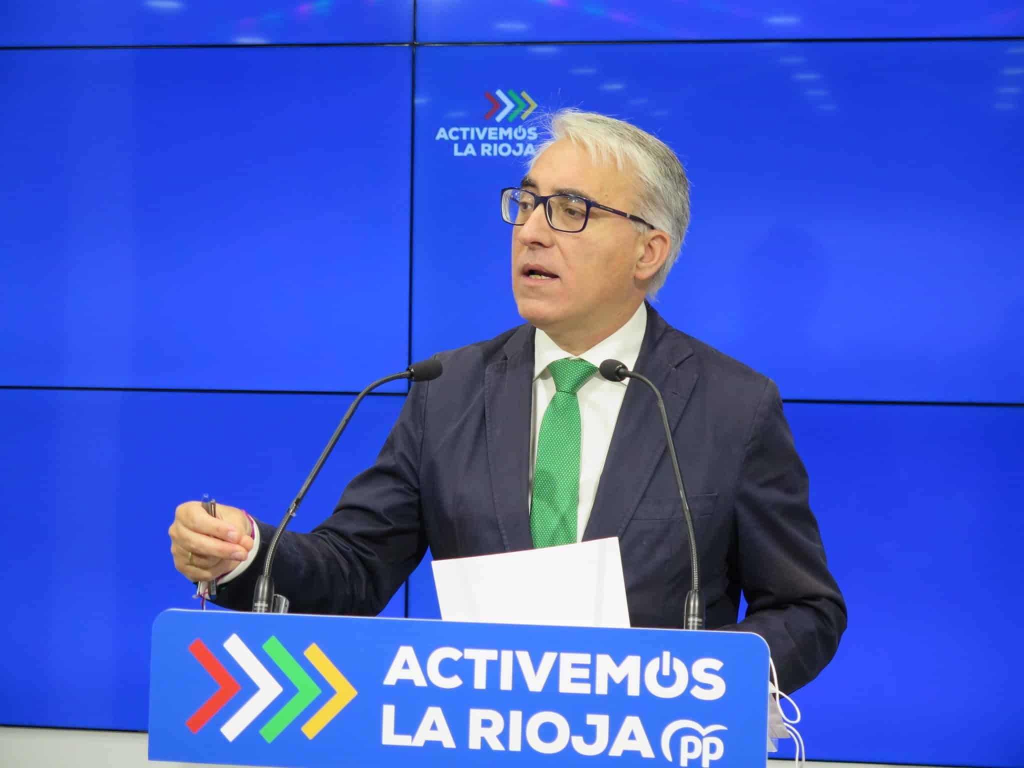 El PP de La Rioja propone que se destinen 850.000 euros para realizar test de antígenos a la comunidad educativa 1