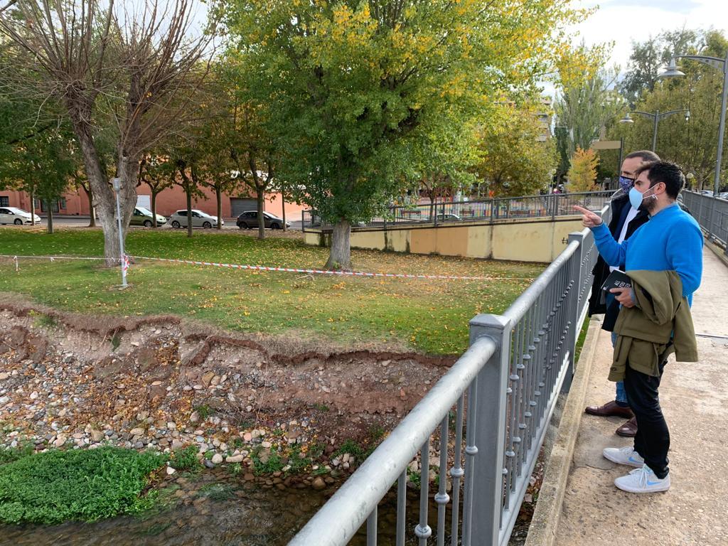 El Gobierno riojano y el Ayuntamiento de Nájera analizan alternativas para proteger la margen derecha del Najerilla a su paso por la localidad 1